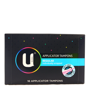 U BY KOTEX Tampon Reg. App. 16