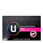 U BY KOTEX Tampon Super App. 16