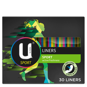 U BY KOTEX Liners Sport 30