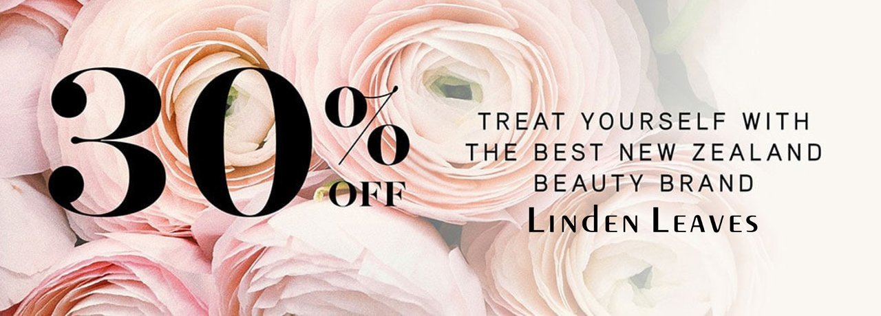 Linden Leaves organic skincare 30% off sale special body facial face skin care gifts Ahuriri Pharmacy chemist beauty therapy NZ new zealand Napier