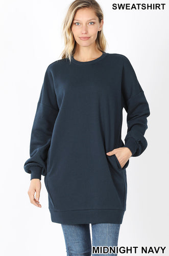 Rosemary Longline Sweater