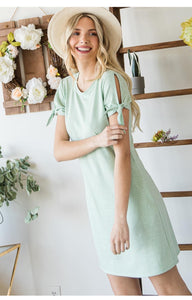Sage Happy Dress