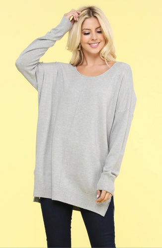 Heather Sweater Tunic