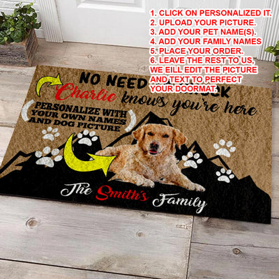Personalized Family Doormat