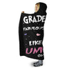 6TH GRADE TEACHERS UNICORN HOODED SHERPA BLANKET