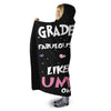 3RD GRADE TEACHERS UNICORN HOODED SHERPA BLANKET