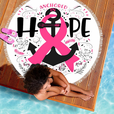 ANCHORED IN HOPE BEACH/PICNIC BLANKET
