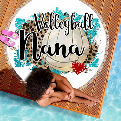VOLLEYBALL NANA BEACH/PICNIC BLANKET