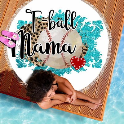 T-BALL MAMA BEACH/PICNIC BLANKET