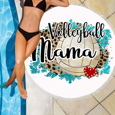 VOLLEYBALL MAMA BEACH/PICNIC BLANKET
