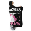 7TH GRADE TEACHERS UNICORN HOODED SHERPA BLANKET