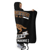 LIFE IS BETTER WITH A GERMAN SHEPHERD PERSONALIZED SHERPA BLANKET