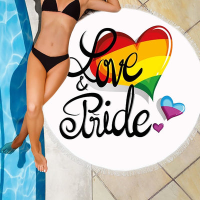 LOVE AND PRIDE BEACH/PICNIC BLANKET