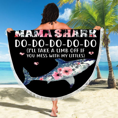 MAMA SHARK BEACH/PICNIC BLANKET