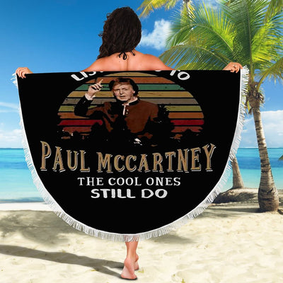 GREW UP LISTENING TO PAUL MCCARTNEY BEACH/PICNIC BLANKET