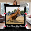 Barrel Racing Personalized Horse Blanket