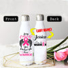 PERSONALIZED BREAST CANCERS AWARENESS THERMOS BOTTLE