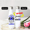 PERSONALIZED COLON CANCERS AWARENESS THERMOS BOTTLE
