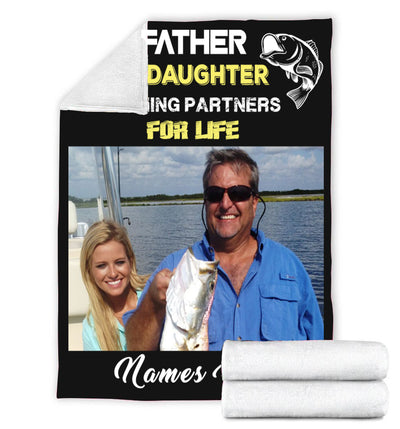 Father & Daughter Fishing Partners for life