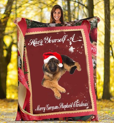 LIMITED EDITION GERMAN SHEPHERD FLEECE BLANKET