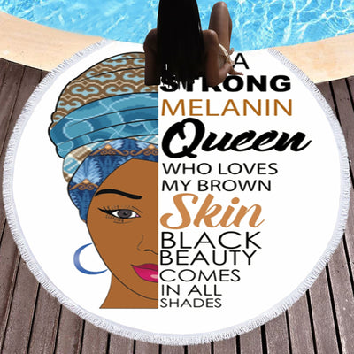 I AM A STRONG MELANIN QUEEN