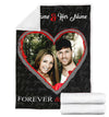 FOREVER AND ALWAYS COUPLE PERSONALIZED BLANKET
