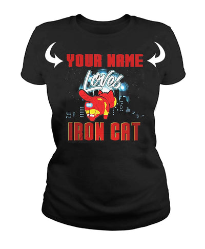 <YOUR NAME> LOVES IRONCAT