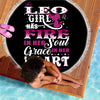 LEO GIRL BEACH/PICNIC BLANKET