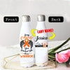 PERSONALIZED LEUKEMIA CANCERS AWARENESS THERMOS BOTTLE