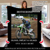 Love Motocross Blanket