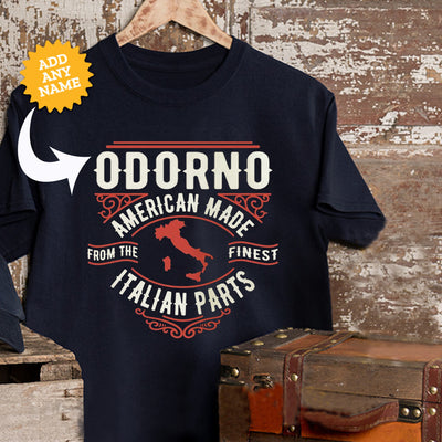 AMERICAN MADE WITH ITALIAN PARTS