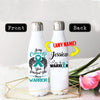 PERSONALIZED OVARIAN CANCERS AWARENESS THERMOS BOTTLE