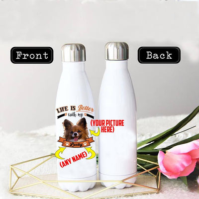 PERSONALIZED PAPILON  STAINLESS STEEL THERMAL BOTTLE