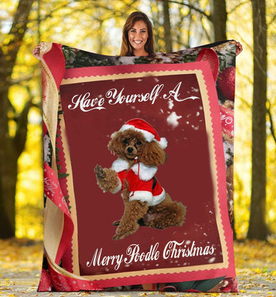 LIMITED EDITION POODLE FLEECE BLANKET