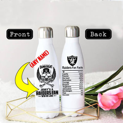 PERSONALIZED LIMITED EDITION THERMAL BOTTLE