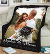 ALWAYS AND FOREVER COUPLE PERSONALIZED BLANKET