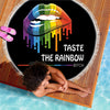 TASTE THE RAINBOW BITCH BEACH/PICNIC BLANKET