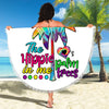 THE HIPPIE IN ME PALM TREES BEACH/PICNIC BLANKET