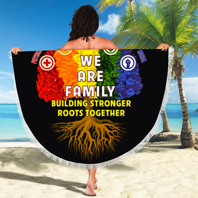 PRIDE ROOTS BEACH/PICNIC BLANKET