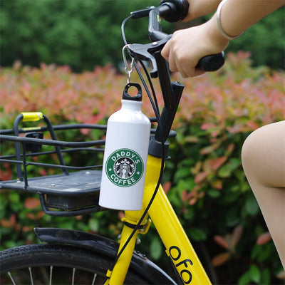 DAD'S ALUMINUM THERMAL BOTTLE WITH CARABINER