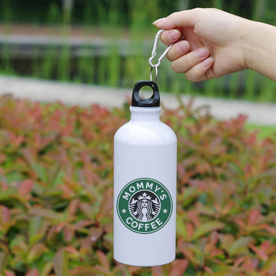 MOM'S ALUMINUM THERMAL BOTTLE WITH CARABINER