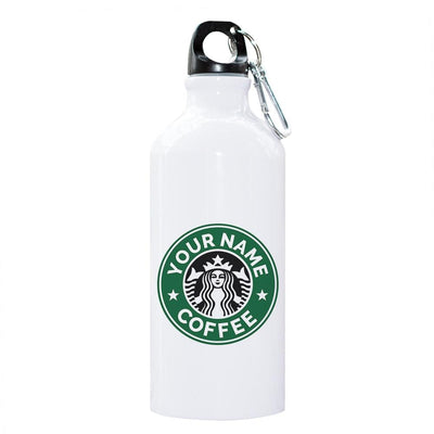 PERSONALIZED ALUMINUM THERMAL BOTTLE WITH CARABINER