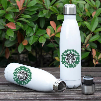 PERSONALIZED INSULATED VACUUM SEALED STAINLESS STEEL DOUBLE THERMAL BOTTLE