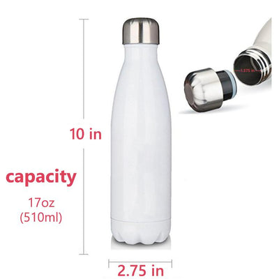 DAD'S INSULATED VACUUM SEALED STAINLESS STEEL DOUBLE THERMAL BOTTLE
