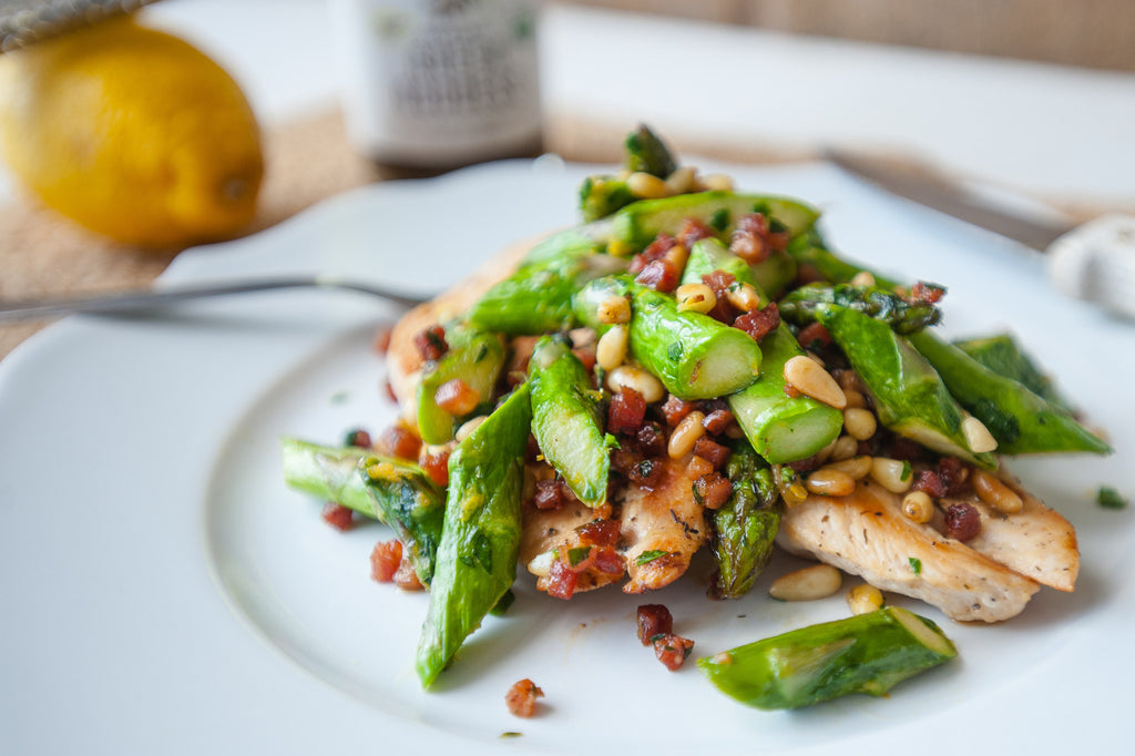 Seared Chicken and Spring Asparagus