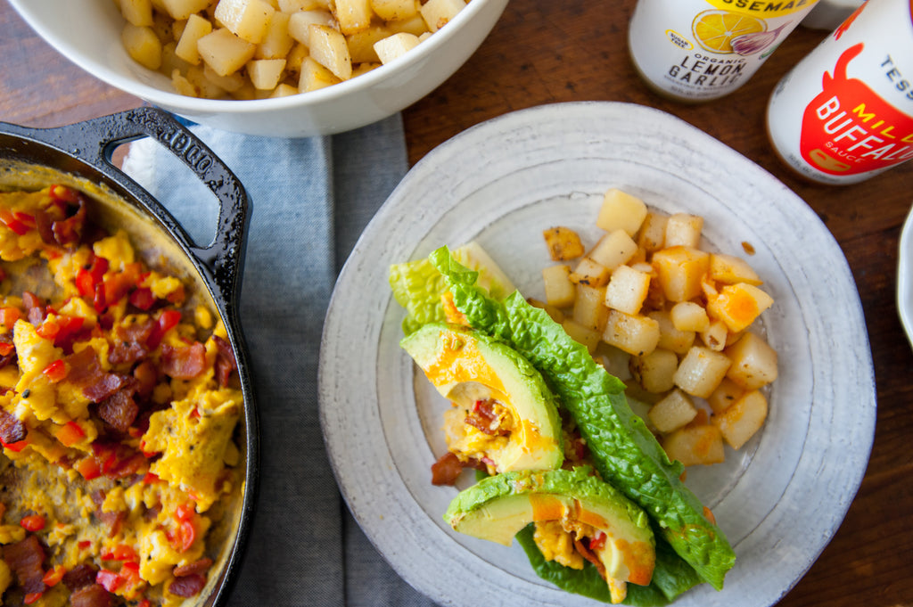 Bacon & Egg Breakfast Tacos