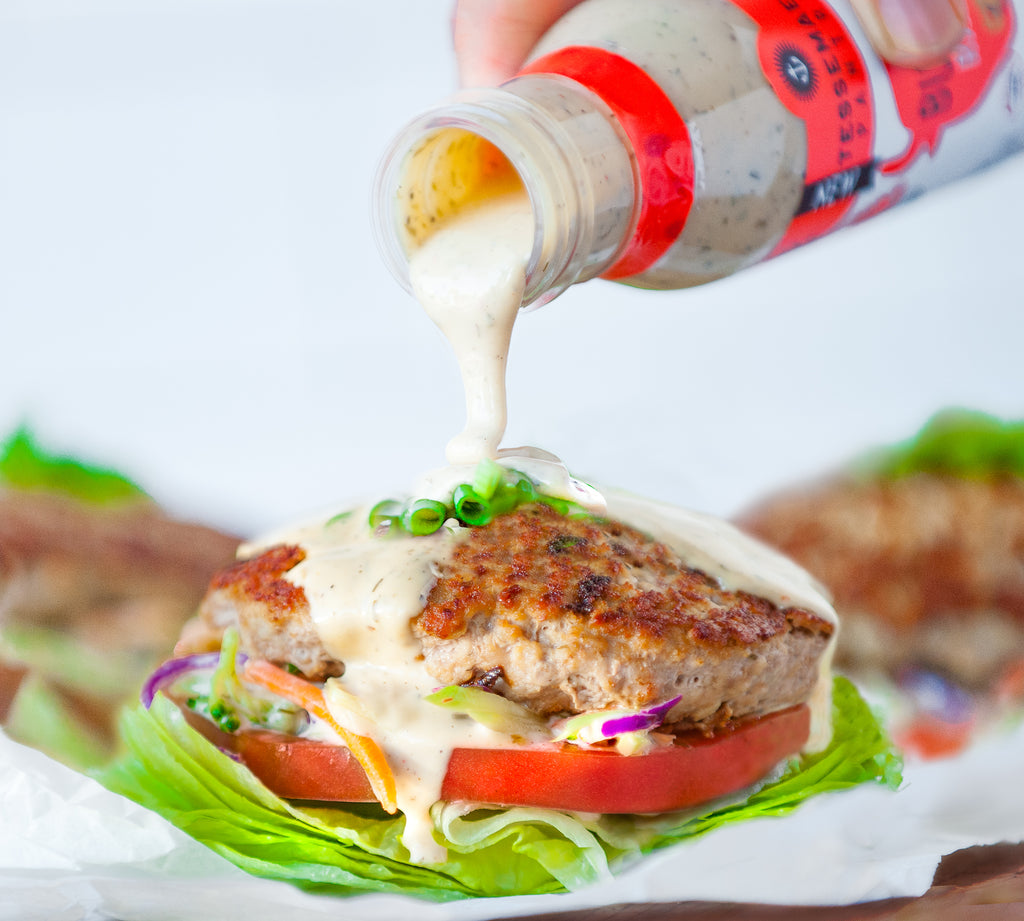 Buffalo Ranch Turkey Burgers