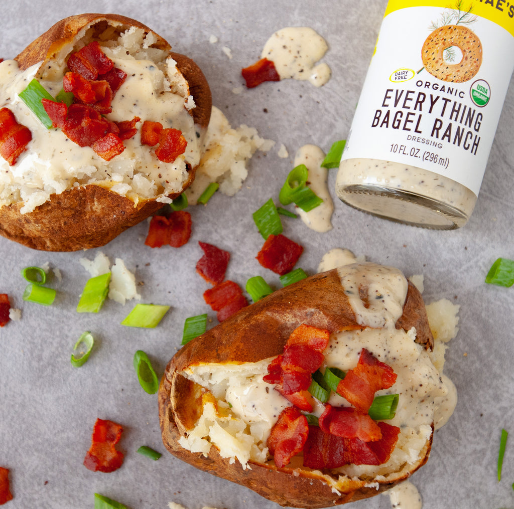 Everything Ranch Baked Potato