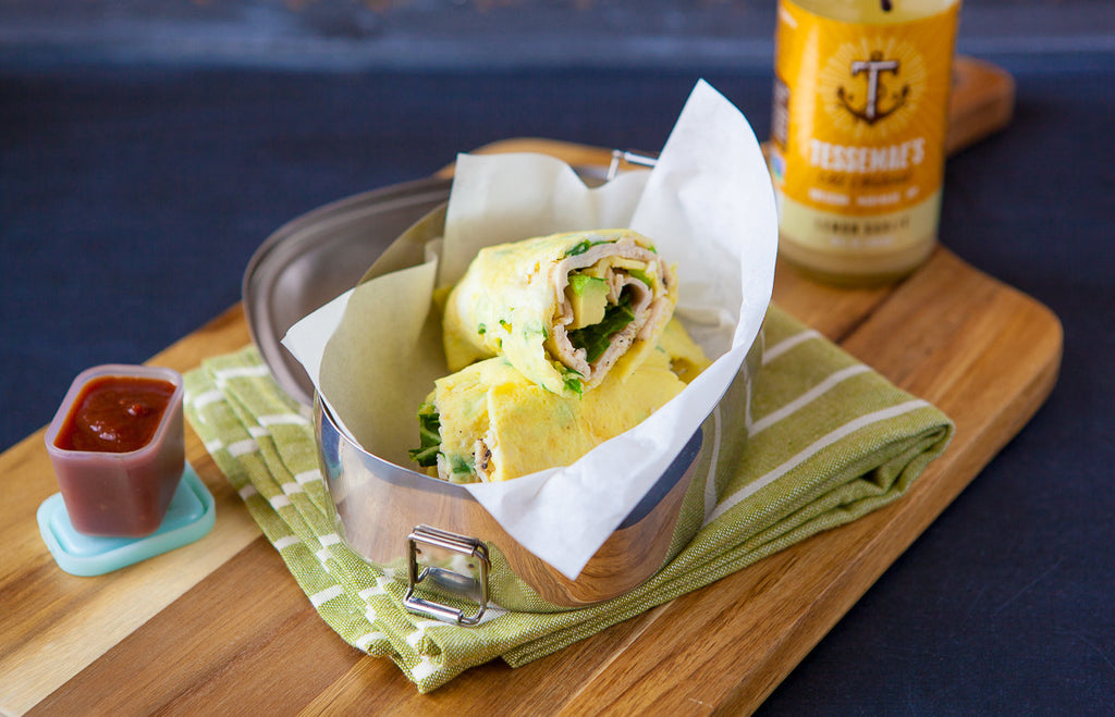 Turkey & Avocado Egg Wraps