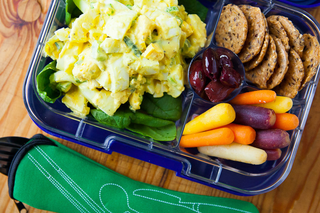 Egg Salad Bento Box